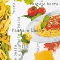 Italienische Tischdeko Fur Die Einladung Zum Pasta Essen Tafeldeko