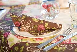 Duni Royal Garden F R Eine Wundersch Ne Tischdekoration
