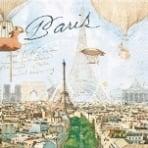 Servietten Paris