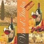 Servietten Vini da Italia