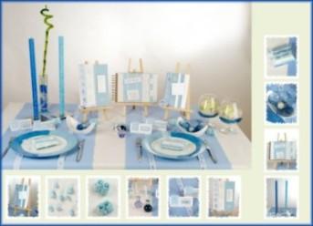 au ergew hnliche tischdekoration f r die taufe tafeldeko. Black Bedroom Furniture Sets. Home Design Ideas