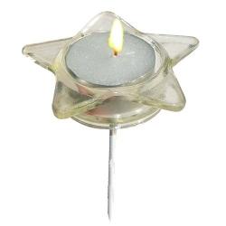 Teelichtsticker Stern