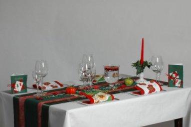 Tischdeko a la Italia