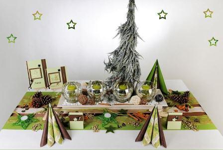 Tischdeko weihnachten grün  Einfach nur schön: die Tischdeko zur Weihnachtsfeier | Tafeldeko