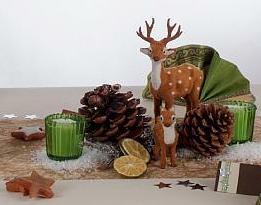 Vorweihnachtliche Deko