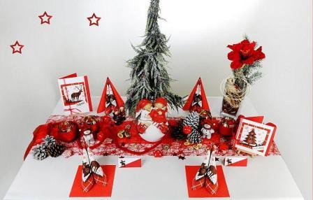 der klassiker in rot die weihnachts tischdeko tafeldeko. Black Bedroom Furniture Sets. Home Design Ideas