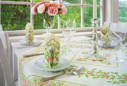 Tischdekoration Im Landhaus Stil Tafeldeko