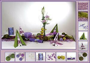 tischdekoration mit kr utern von der natur inspiriert tafeldeko. Black Bedroom Furniture Sets. Home Design Ideas