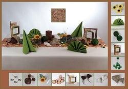 Welche Tischdekoration Zum 50 Geburtstag Tafeldeko