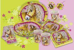 Pferde Tischdeko
