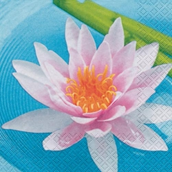 Serviette Water Lily