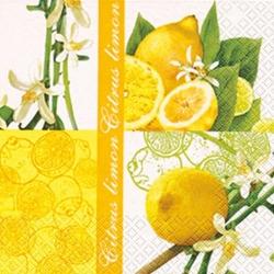 Serviette Zitrone