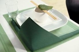 Anleitung f r eine japanische tischdekoration tafeldeko - Serviettenfalttechnik anleitung ...