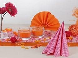 Teatime orange-pink