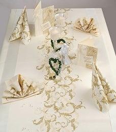 Alles Rund Um Die Goldene Hochzeit Tafeldeko