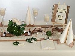 tischdeko trend 2011 naturmaterialien sind angesagt tafeldeko. Black Bedroom Furniture Sets. Home Design Ideas