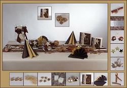 Tischdeko weihnachten gold braun  Gut geplant – Tischdekoration für Weihnachten!   Tafeldeko