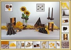 geburtstag tischdeko. Black Bedroom Furniture Sets. Home Design Ideas