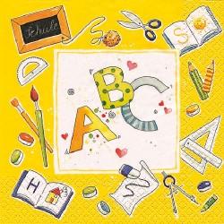 ServietteABCgelb3858_0