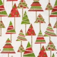 Weihnachtliche dekoration mit dem dekovlies tannenbaum for Weihnachtliche dekorationen im vintage look