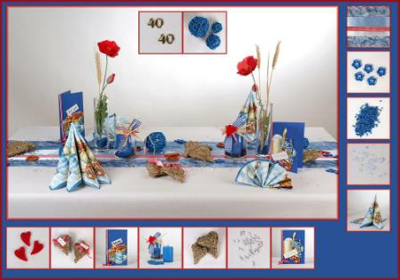 Darf S Eine Bayrische Tischdeko Fur Den 40 Geburtstag Sein Tafeldeko