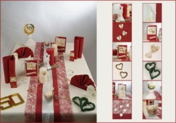 Goldene Hochzeit Grund Fur Eine Tischdekoration Tafeldeko