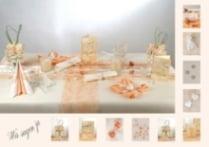 ... - Blog » Hochzeit » Hochzeitstischdeko in der Farbe apricot