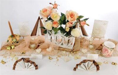Romantische Tischdekorationen mit tollen Hinguckern  Tafeldeko
