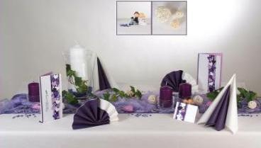 Home » Tischdeko - Blog » Hochzeit » Eine Hochzeitsdekoration in ...