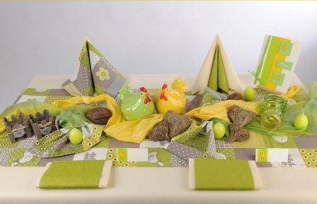 Schon langsam an die Tischdeko für Ostern denken | Tafeldeko