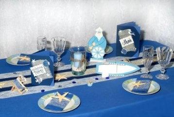 Maritime Tischdekoration bringt Urlaubsgefühle zurück  Tafeldeko