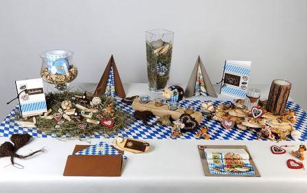 Tischdeko Herbst Im Bayrischen Stil Tafeldeko