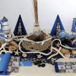 maritime Geburtstags Tischdeko