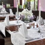 Tischdeko Hochzeit