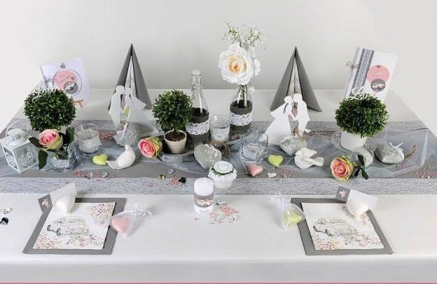 Tischdeko hochzeit vintage toller hingucker tafeldeko - Tischdekoration naturmaterialien ...