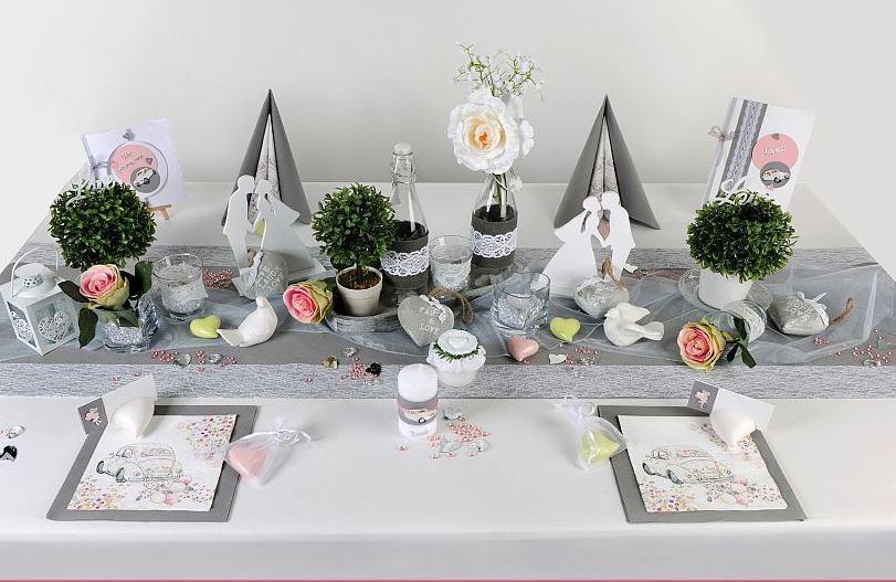 Tischdeko Hochzeit Vintage Toller Hingucker Tafeldeko
