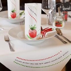 Tischdeko Italien
