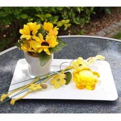 Tischdeko Brunch Sch N Mit Blumen Tafeldeko