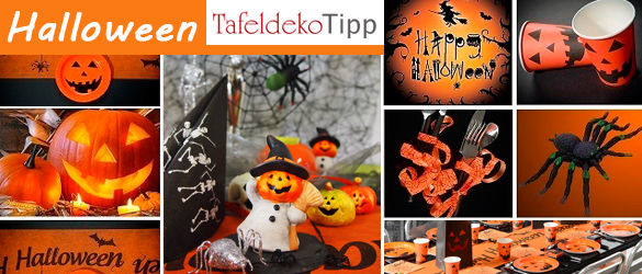 Halloween tischdeko ideen tafeldeko - Tischdeko halloween ...