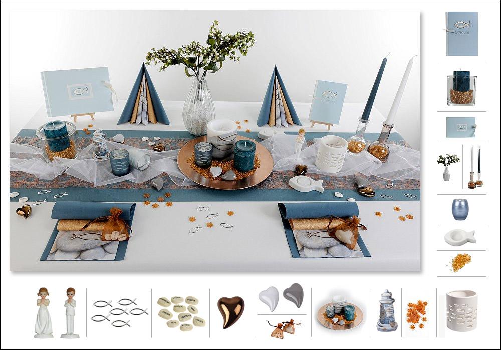 Tischdeko konfirmation ein highlight tafeldeko for Tafel deko