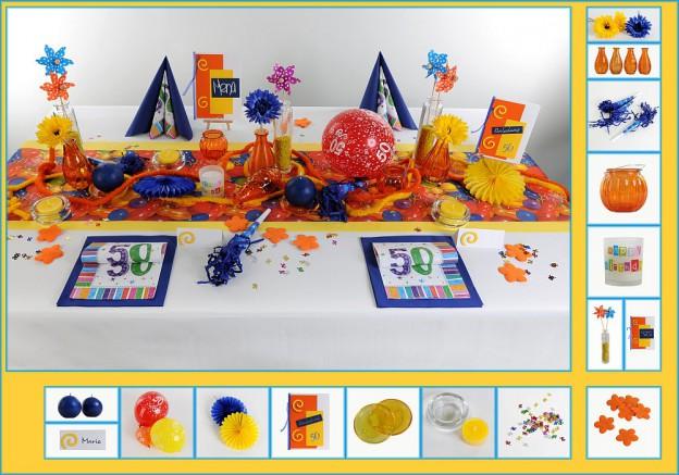 Geburtstags Tischdeko