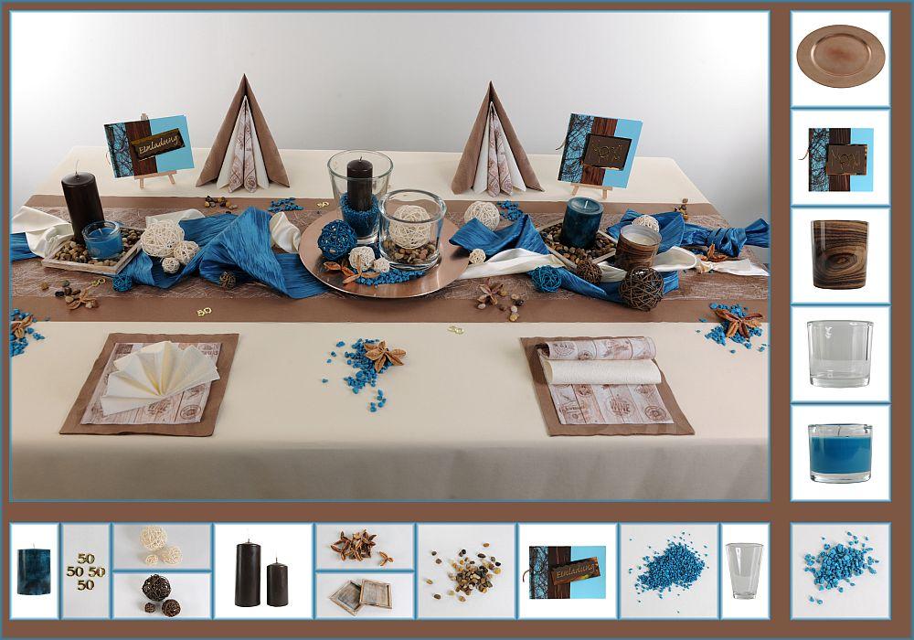 deko als kontrast sorgt f r tafeldeko. Black Bedroom Furniture Sets. Home Design Ideas