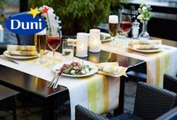 Tischdeko Ideen für die Gartenparty