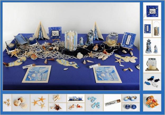 Maritime Tischdekoration