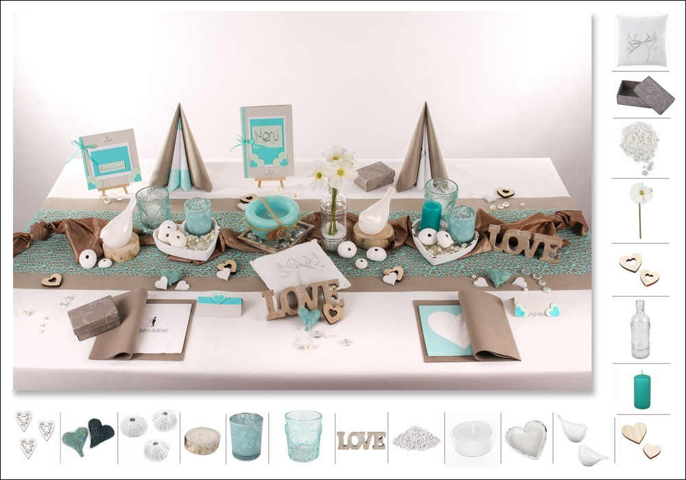 Hochzeit tischdeko for Tafel deko