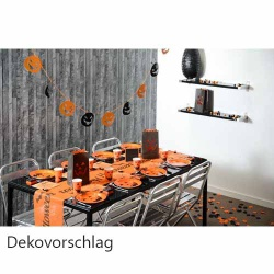 halloween tischdeko spa f r jung und alt tafeldeko. Black Bedroom Furniture Sets. Home Design Ideas
