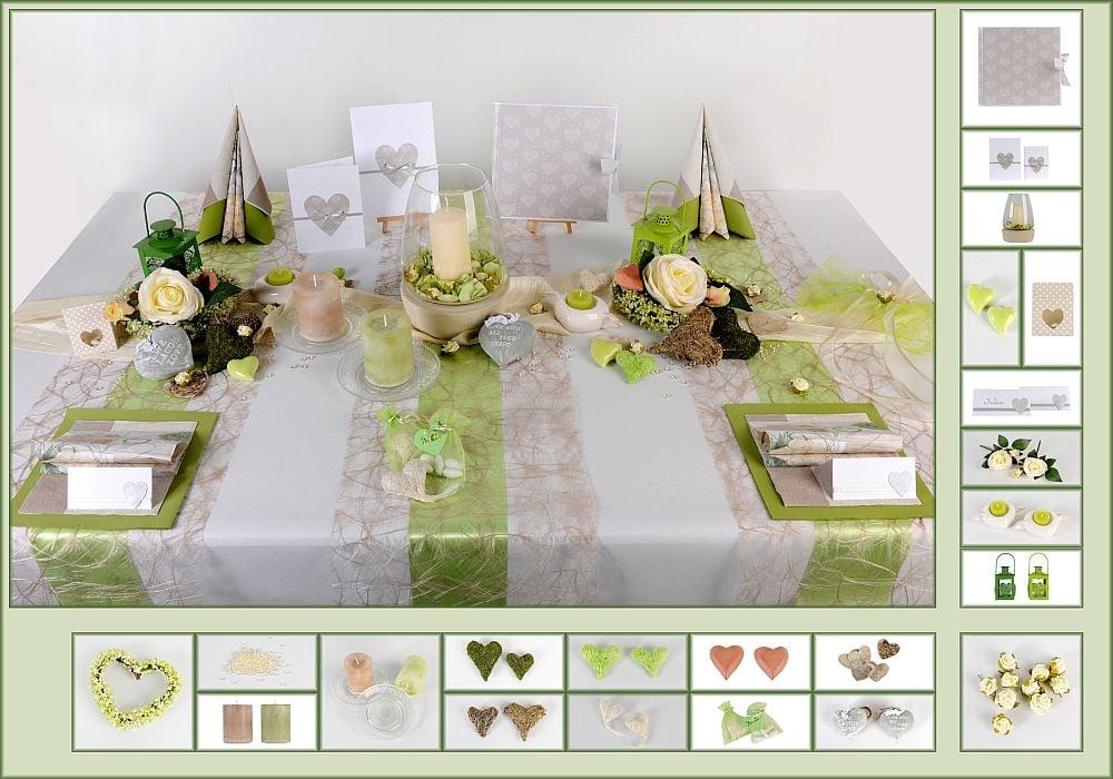 Hochzeit tischdeko ideen und neuheiten tafeldeko - Hochzeits tischdekoration ...