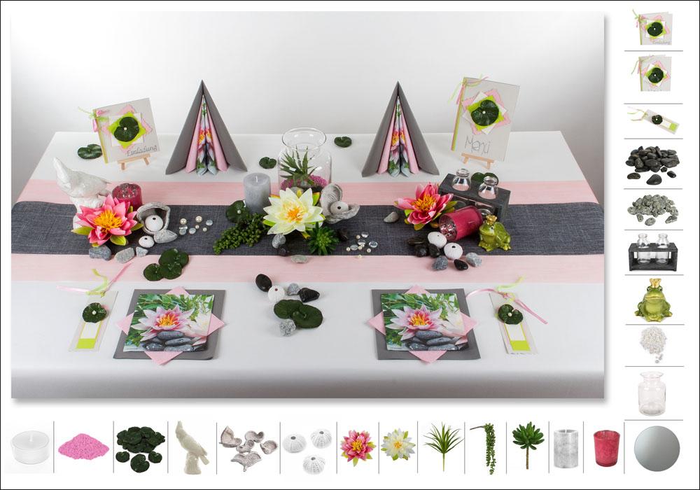 tischdeko geburtstag den ehrentag geb hrend feiern tafeldeko. Black Bedroom Furniture Sets. Home Design Ideas