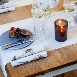 Einfache Tischdeko Geburtstag Tafeldeko