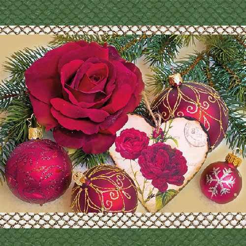 Tischdeko Romantik Zur Weihnachtszeit Tafeldeko